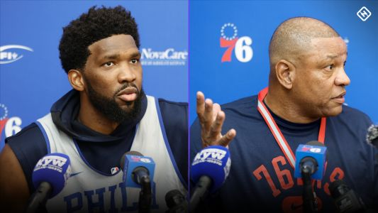 Joel Embiid, Doc Rivers sound off about disgruntled 76ers star Ben Simmons: 'We're not here to babysit'