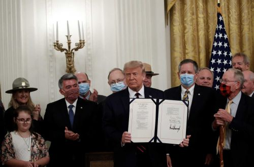 President Trump signs $3B-a-year plan to boost conservation, parks
