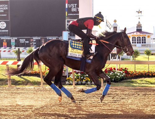 Test results in for Medina Spirit ahead of Preakness
