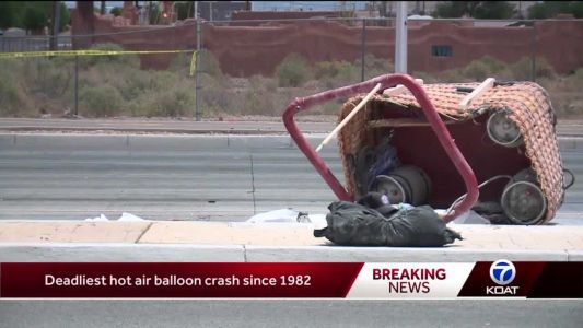 Witnesses describe the hot air balloon crash that killed 5 people