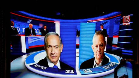 Narrow exit poll results hold Israel in suspense: Even if Netanyahu beats Gantz, forming coalition would be challenging