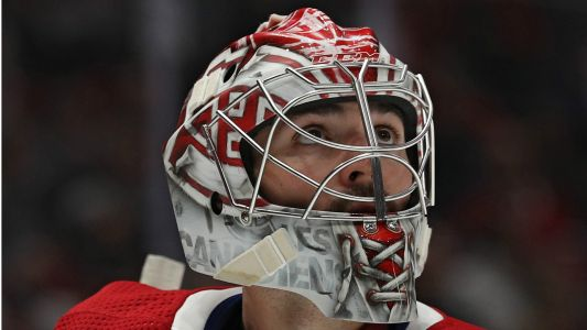 Montreal Canadiens' Carey Price inadvertently scores winning goal for Columbus Blue Jackets