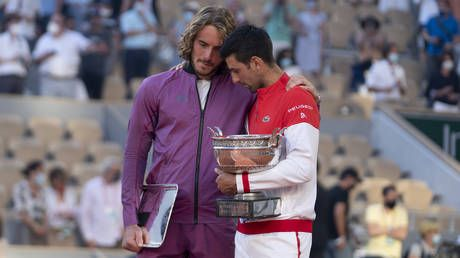 Greek tennis ace Tsitsipas reveals he learned grandmother passed away 'five minutes before entering court' for French Open final