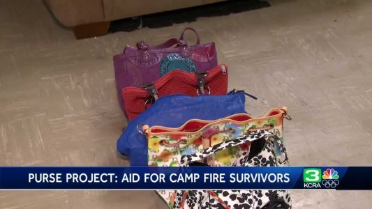 Folsom woman helps Camp Fire survivors, one purse at a time