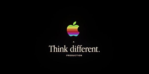 Apple kicked off its big event about the future of TV with a clever nod to its past