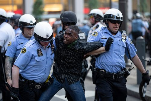 Police make nearly 1,400 arrests nationwide amid George Floyd protests