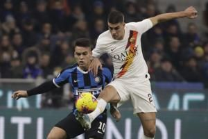 Leader Inter Milan held by Roma to 0-0 tie in Italian league