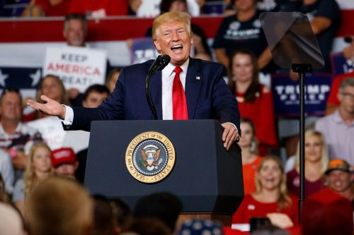 Trump rails against Ilhan Omar, 'the Squad' during raucous rally