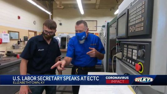 U.S. labor secretary highlights role of technical colleges in helping economy during KY trip
