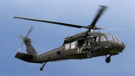 Black helicopters over DC? Pentagon accidentally reveals 'classified' domestic Black Hawk mission