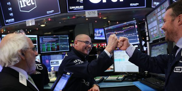 'Light at the end of the tunnel': Stocks surge as fewer new coronavirus cases signal lockdowns are working