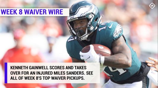 Best fantasy football waiver wire pickups for Week 8