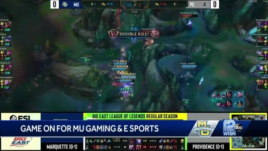 Game on for Marquette gaming, eSports