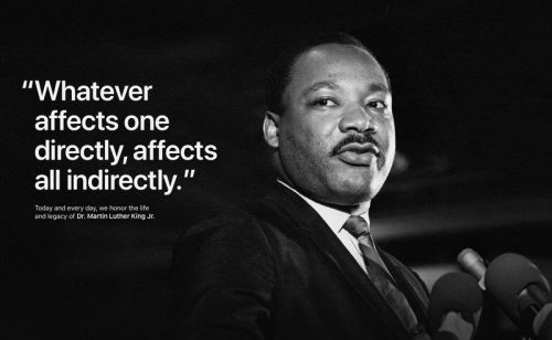 Tim Cook and Apple commemorate Dr. Martin Luther King Jr. Day