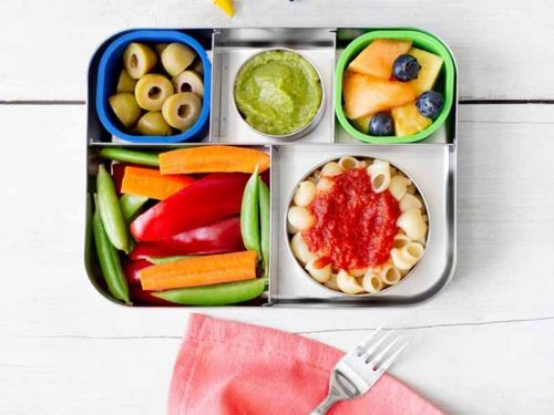 These dishwasher-safe bento lunch boxes make it easy to pack lunches for kids and adults alike