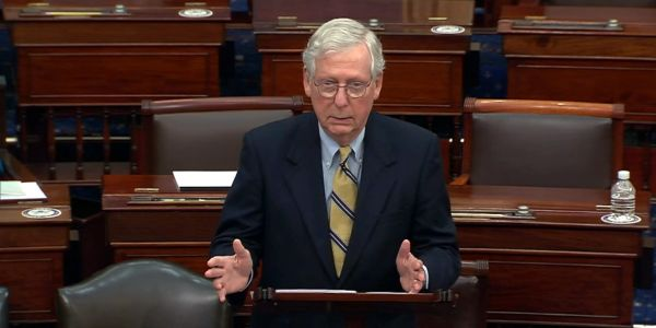 Watch: McConnell's full remarks following Senate vote to acquit Trump