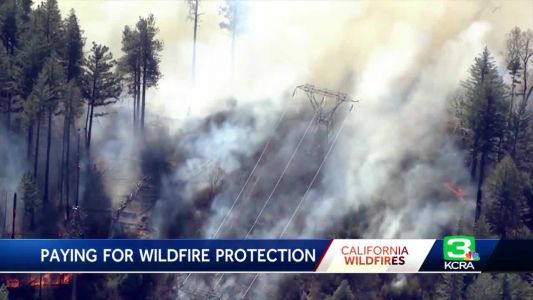 PG&E customers sue over California wildfire law