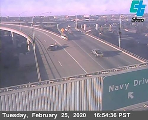 I-5 in Stockton shut down due to police activity