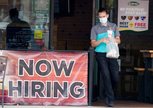 US jobless claims drop; still at 847,000 as pandemic rages