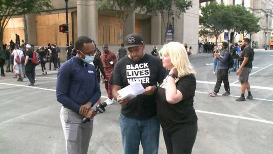 'They boxed us in': Couple recounts Wednesday protest arrests in Louisville