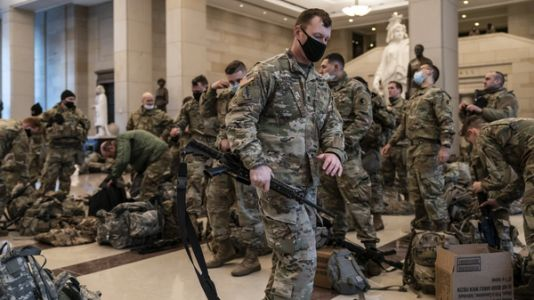 20,000 National Guardsmen Will Be Deployed For Inauguration, D.C. Official Says