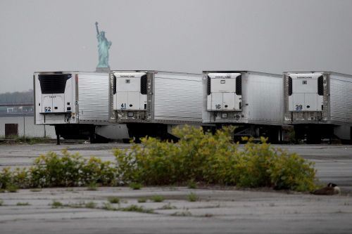 Bodies of COVID-19 victims are still being stored in refrigerated trailers in New York City