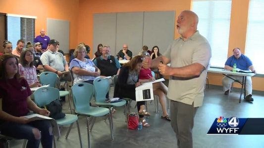 First responders train to help someone in a mental health crisis