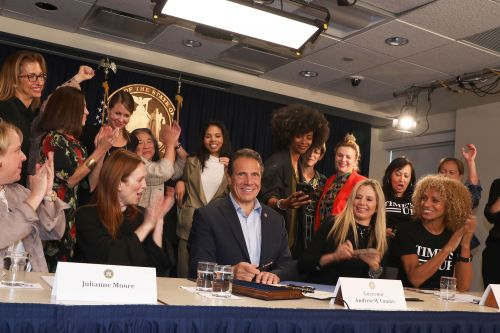 Cuomo signs law making it easier to prosecute rape cases