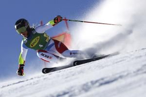 Shiffrin edges Gut-Behrami to win World Cup skiing opener