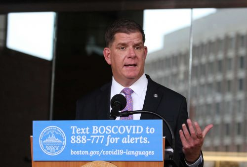Mayor Walsh to provide update on Boston's COVID-19 response
