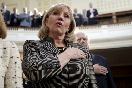 Kim Guadagno, who served as Christie's lieutenant governor, leaves GOP