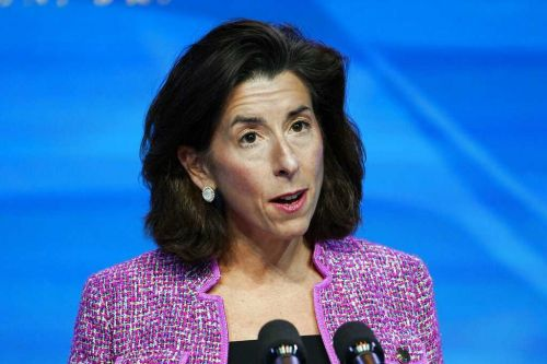 Senate confirms Rhode Island governor as Biden's commerce secretary