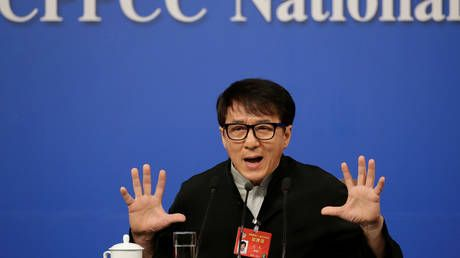 Jackie Chan gets karate-chopped on social media after expressing desire to join China's Communist Party