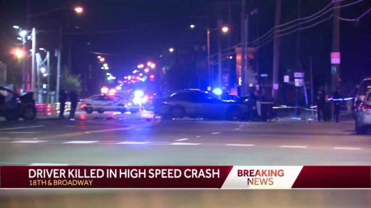 Police: 1 dead, 2 injured after driver runs red light in west Louisville