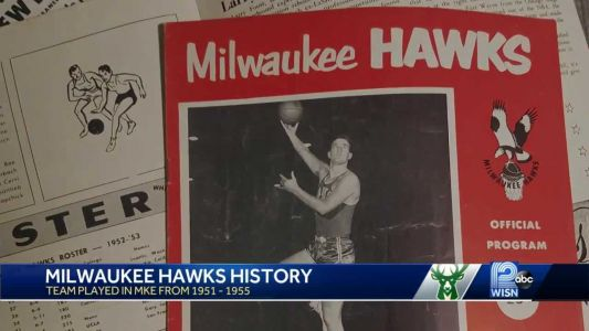 Before they were the Atlanta Hawks, the team called Milwaukee home