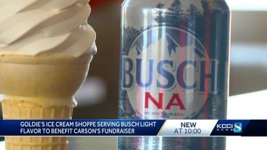 Central Iowa ice cream shop joins Carson King fundraiser with Busch soft-serve