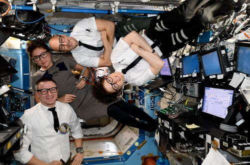 Astronauts on Space Station Pay Tribute to Apollo 12's 50th Anniversary