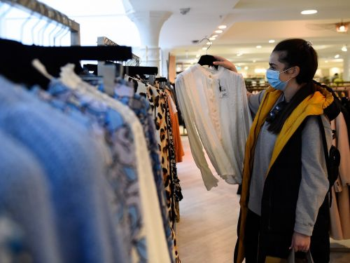 Clothing sales bounce back after a disastrous pandemic decline, as shoppers opt for a 'vax summer' wardrobe refresh