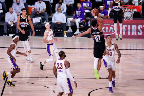 Jamal Murray leads Nuggets to big win over Lakers in NBA playoffs
