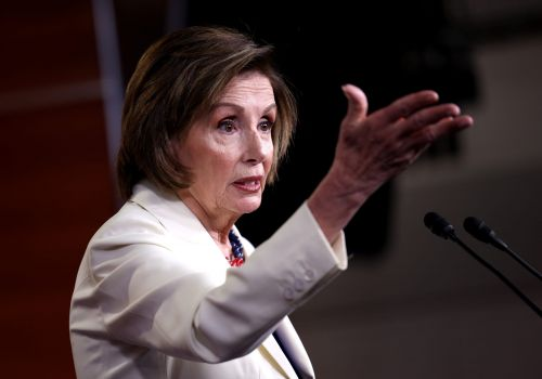 Pelosi says that she won't 'give up on Joe Manchin' over his opposition to sweeping voting-rights legislation