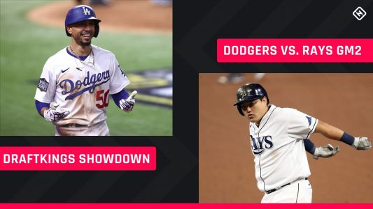 World Series DraftKings Picks: MLB DFS lineup advice for Game 2 Dodgers-Rays Showdown tournaments