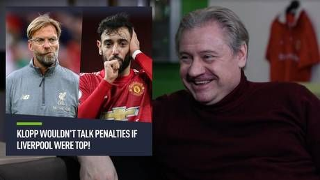 'If Liverpool were top of the Premier League, Klopp wouldn't speak about penalties!' Man United legend Kanchelskis to RT