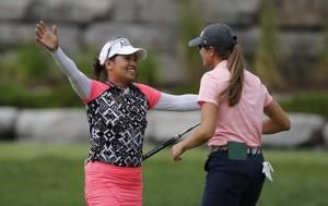Clanton, Suwannapura win LPGA Tour team event