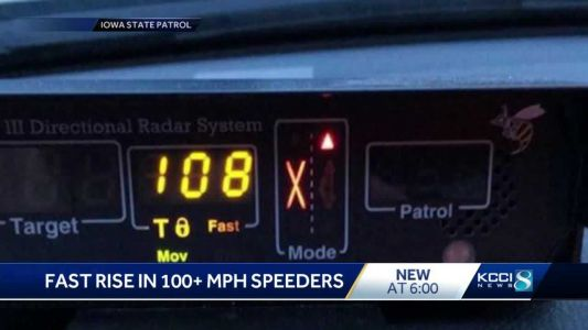ISP catches 729 drivers traveling 100 mph or more in 2018