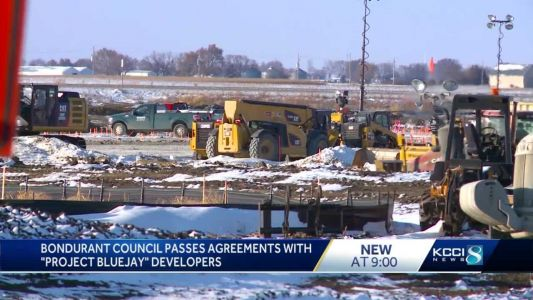 Bondurant City Council unanimously approves agreement for 'Project Bluejay'
