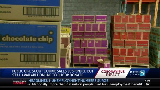 Suspended cookie sales takes toll on Iowa Girl Scouts