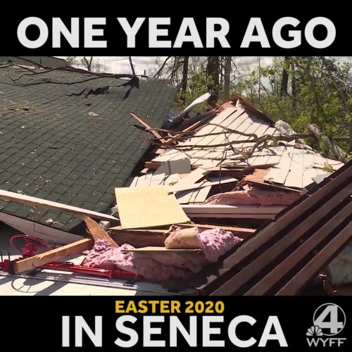 🌪️ One year later: A look back at the EF-3 tornado that hit Seneca last year