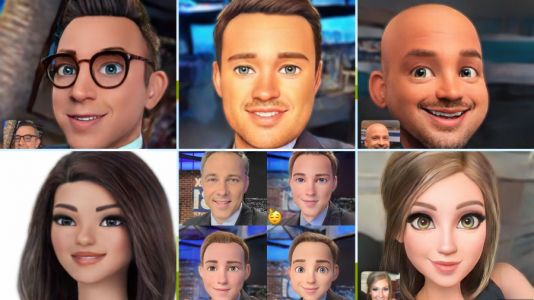 Voila! Just like that, app turns your photo into a cartoon