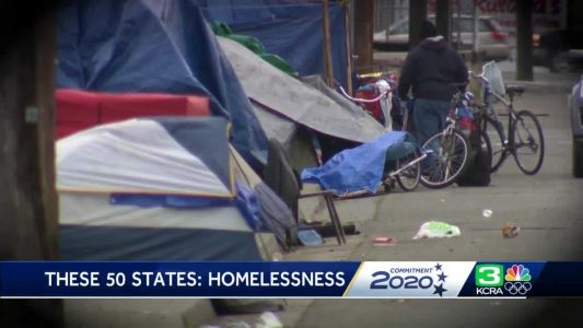 California is home for one-quarter of nation's homeless