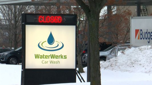 2 Workers Hurt After Vehicle Crashes Into Golden Valley's WaterWerks Car Wash